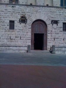 The Comune of Montepulciano - site where they are filming the Twilight sequel and where they approved my residency permit!
