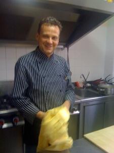The chef, Fabio