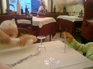 Alberto's Restaurant...Table for seven per favore!