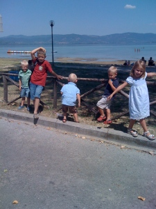 Arrival at Lago Trasimeno