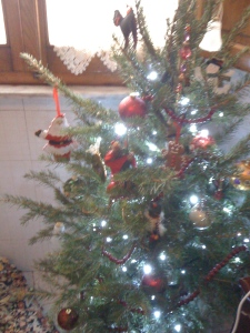 My little Christmas tree...