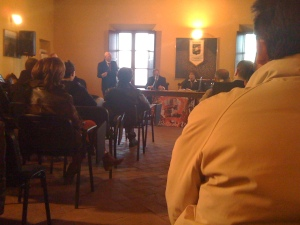 The presentation of the Sommelier course.
