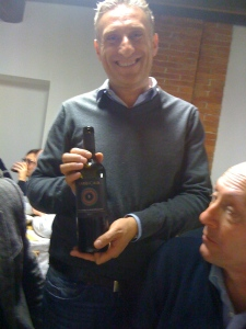My friend Marco Barbi launched his first Vino Nobile vintage this year!!