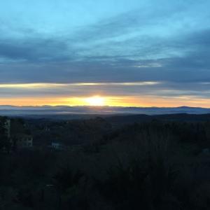 Sunrise on a morning run!